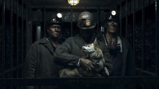 Собака в шахте